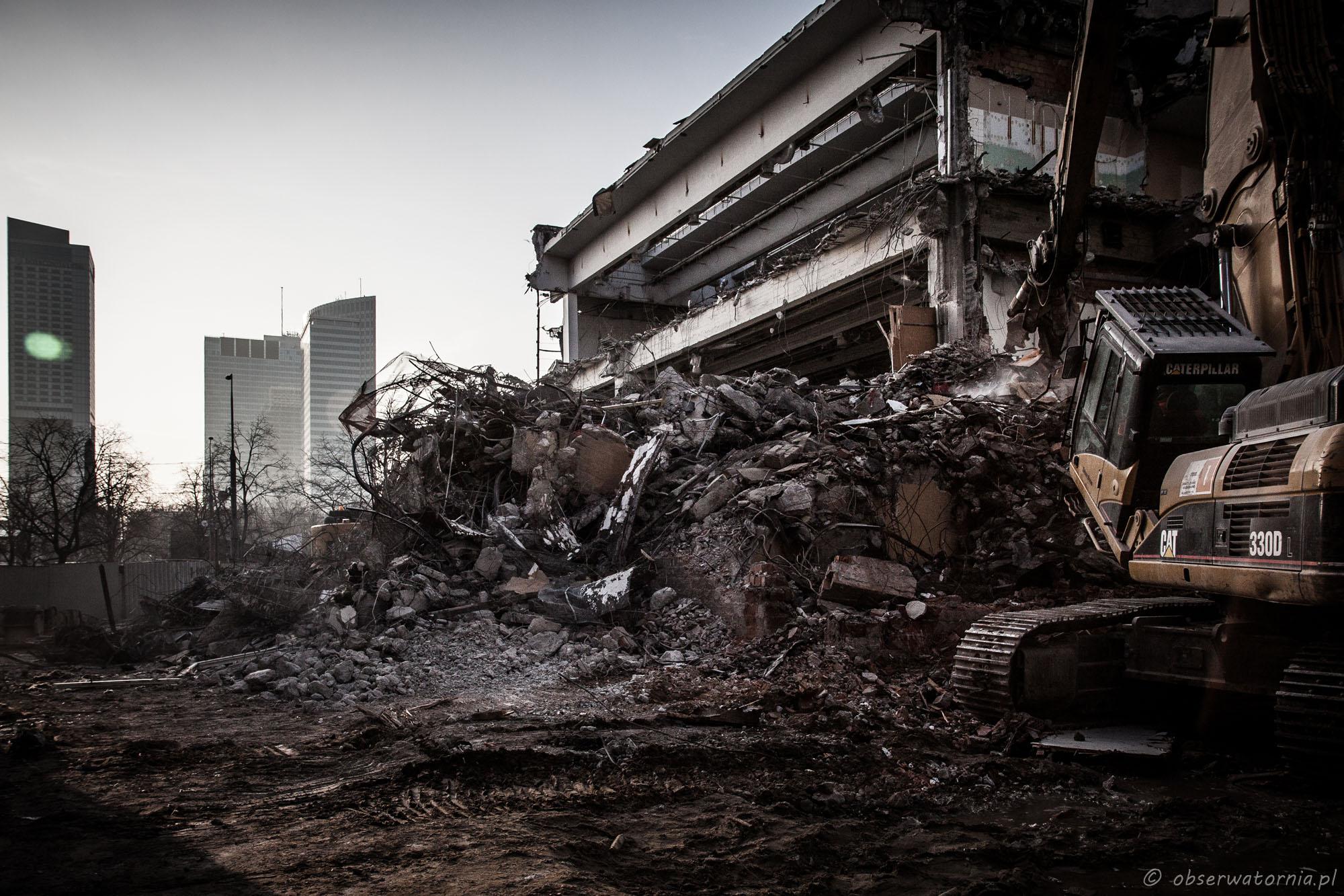 Warszawa – Rozbiórka Sezamu