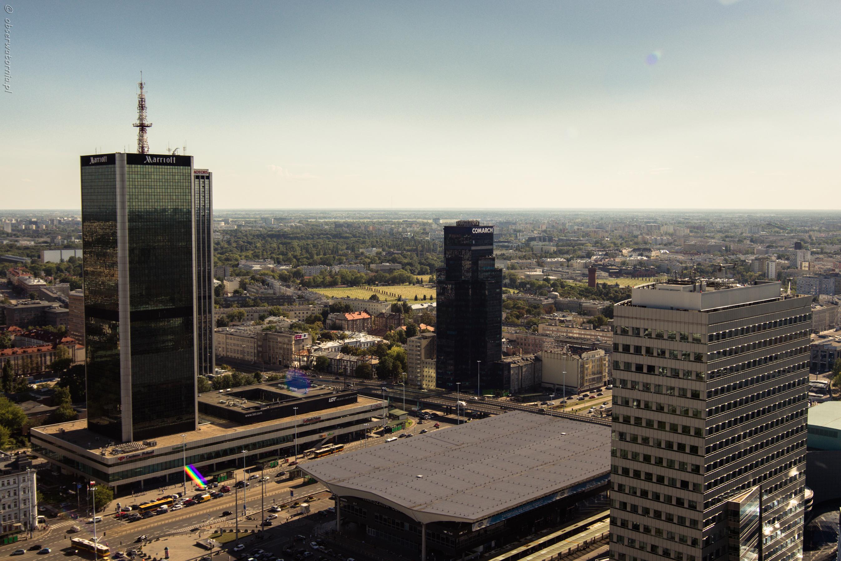 Warszawa z PKiN