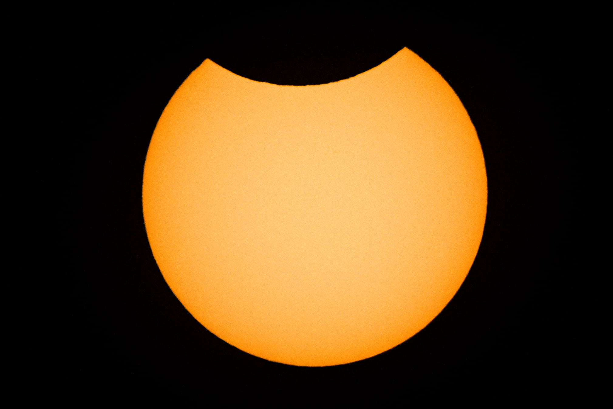 Zaćmienie Słońca Księżycem
